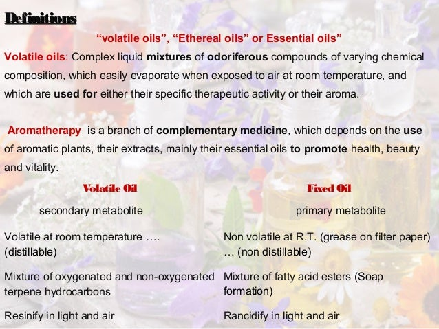 essential oils are complex mixtures biology essay Thus, the commercial essential oils sold for their various aroma and herbal medicinal qualities are complex mixtures of natural plant antibiotics and they are the original materials used for the production of many pharmaceuticals.