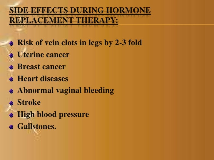Phytoestrogen side effects