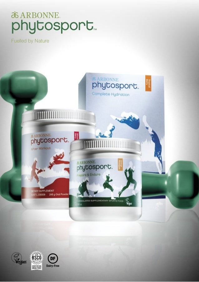 Phytosport By Arbonne Available Now