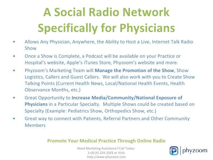 Extend Your Medical Brand with Online Radio Slide 3