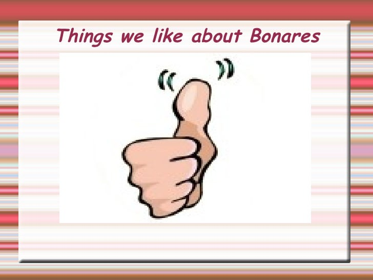 Things we like about Bonares