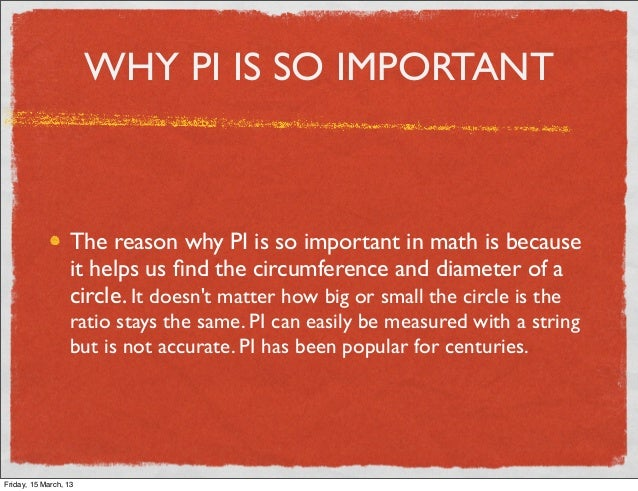 Pi for What is the significance of pi s unusual name