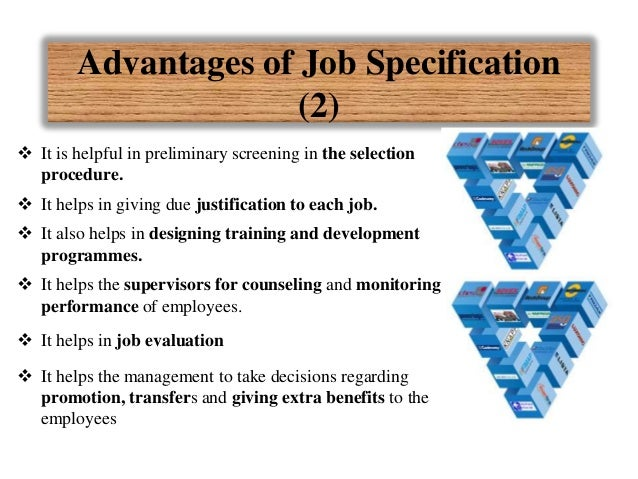 advantages and disadvantages of job analysis