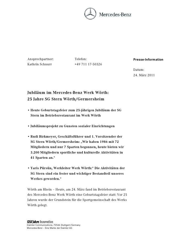 Ansprechpartner:                          Telefon:                 Presse-InformationKathrin Schnurr                      ...