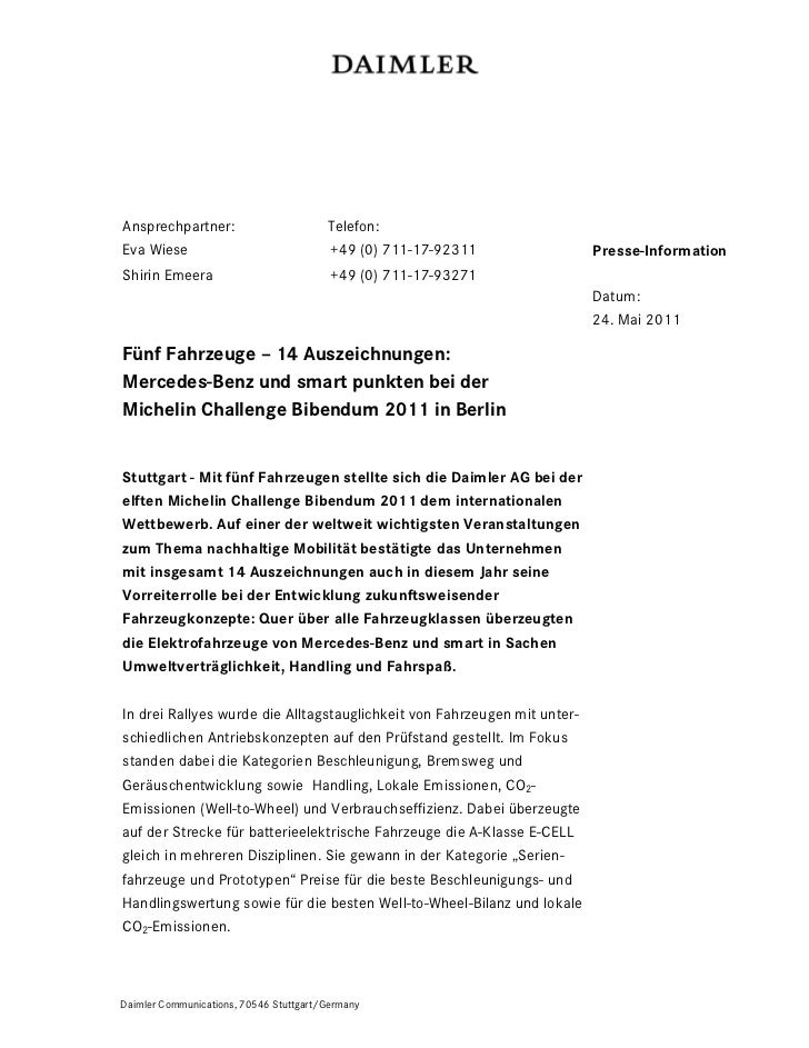 Ansprechpartner:                        Telefon:Eva Wiese                               +49 (0) 711-17-92311              ...