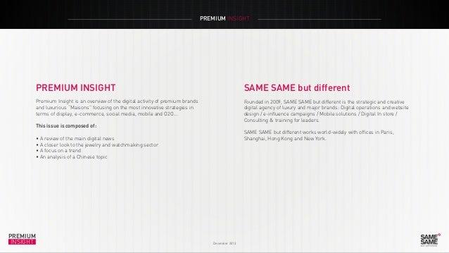 Premium Insight December 2013 Slide 2