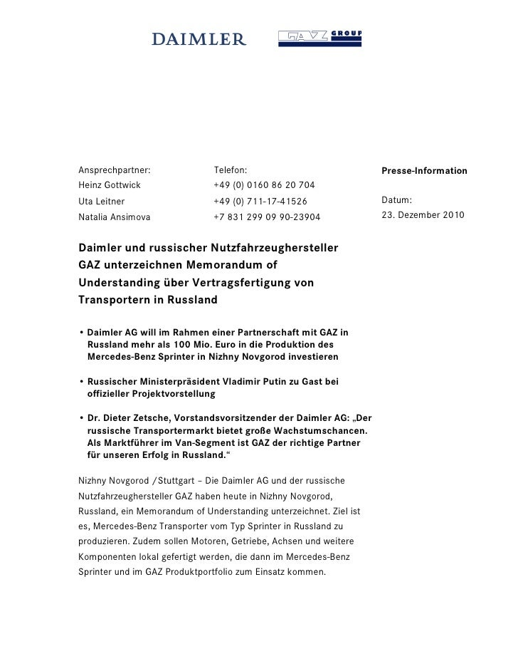 Ansprechpartner:               Telefon:                             Presse-InformationHeinz Gottwick                 +49 (...