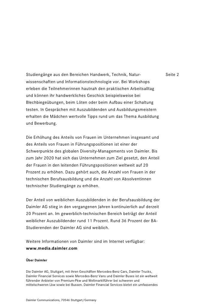 Studiengänge aus den Bereichen Handwerk, Technik, Natur-                                 Seite 2wissenschaften und Informa...