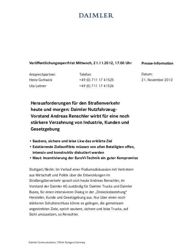 Veröffentlichungssperrfrist Mittwoch, 21.11.2012, 17.00 Uhr           Presse-InformationAnsprechpartner:                  ...