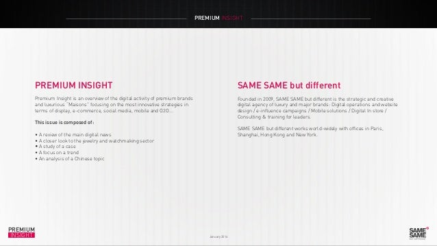 Premium Insight January 2014 Slide 2