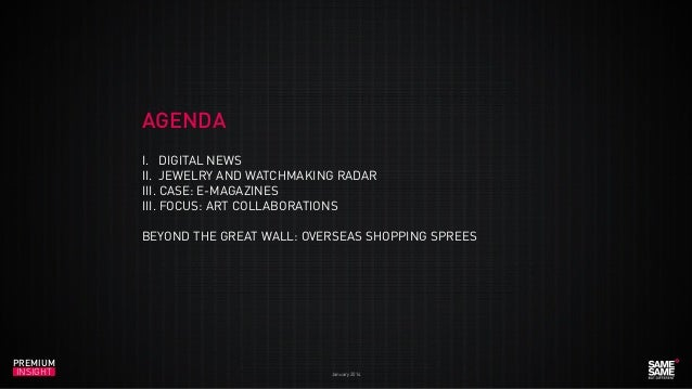 Premium Insight January 2014 Slide 3