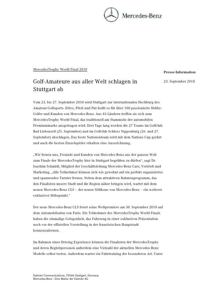 MercedesTrophy World Final 2010                                                                                     Presse...
