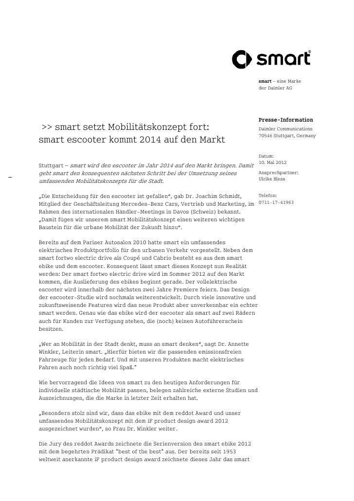 smart – eine Marke                                                                                   der Daimler AG       ...