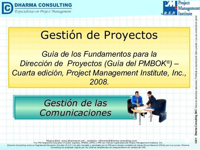 Guía de los Fundamentos para la Dirección de Proyectos (Guía del PMBOK®) – Cuarta edición, Project Management Institute, I...