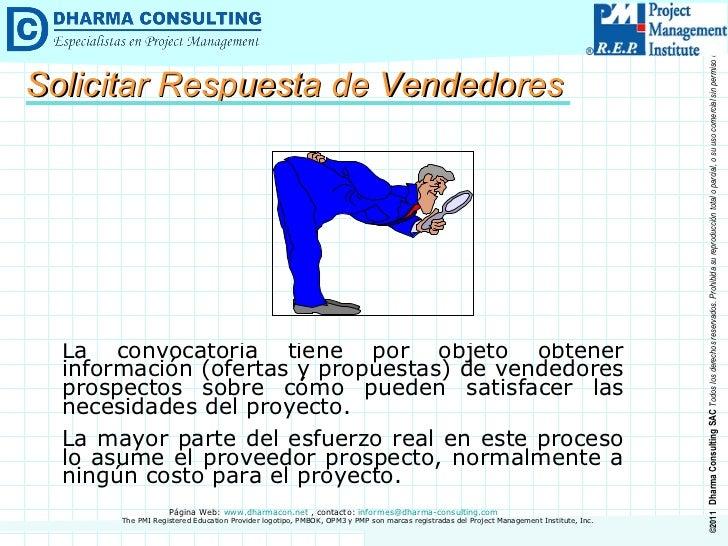 La  convocatoria tiene por objeto  obtener información (ofertas y propuestas) de  vendedores  prospectos sobre cómo pueden...