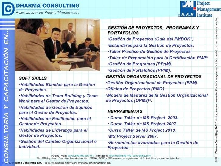 <ul><li>GESTIÓN DE PROYECTOS,  PROGRAMAS Y PORTAFOLIOS </li></ul><ul><li>Gestión de Proyectos (Guía del PMBOK ® ). </li></...