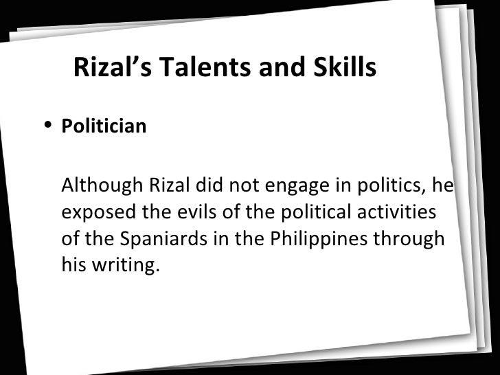 Knights Of Rizal | Personality