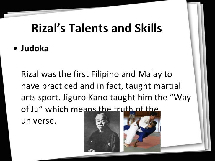 how did rizal show his talent in literary works