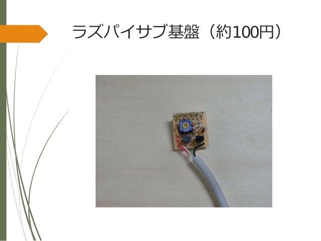 ラズパイサブ基盤(約100円)