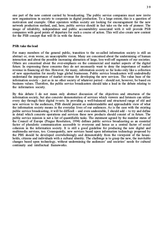 PI99 Report Politics and Internet 1999 (Dr. Paula Tiihonen Counsellor to the Committee for the Future Parliament of Finland)