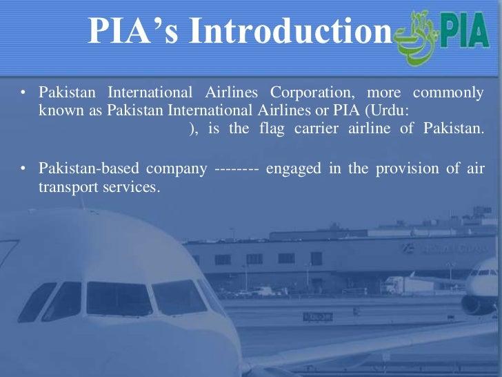 Study On Pakistani International Airline Management Essay
