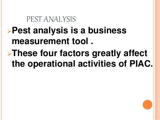 Pest analysis of soap industry in pakistan