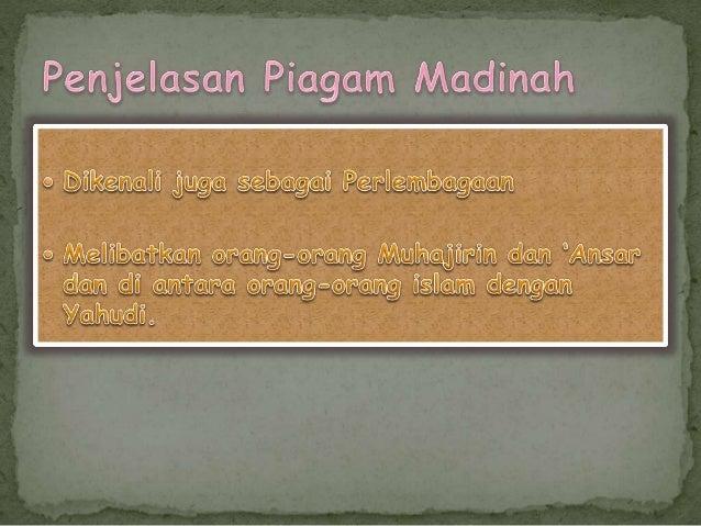Piagam Madinah Slide 2