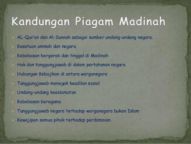 Piagam Madinah Slide 3