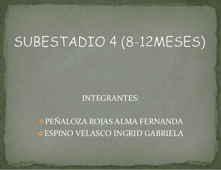 INTEGRANTES: PEÑALOZA ROJAS ALMA FERNANDA ESPINO VELASCO INGRID GABRIELA
