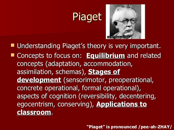 piagets theories