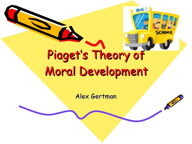 Piaget's Theory of Moral Development Alex Gertman