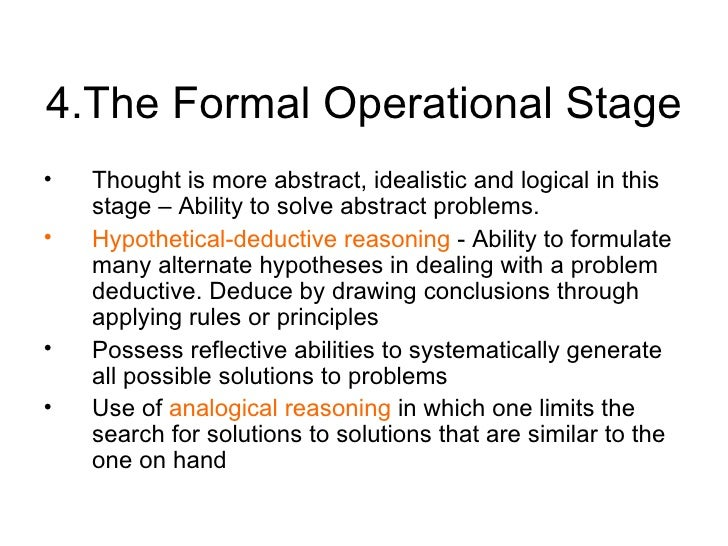 piaget-theory-11-728 Formal Operational Stage Thoughts Examples on jean piaget theory, slide powerpoint presentation, real life examples, developmental issue, abstract thinking,