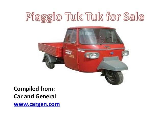 piaggio tuk tuk for sale