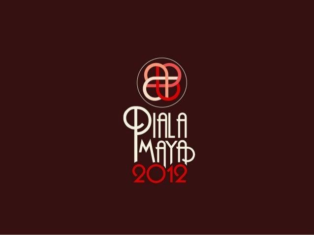 Jakarta, 6, 7 11 - 13 & 15 December 2012