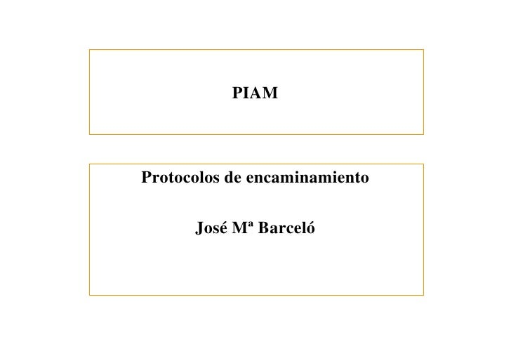 Piam routing-ospf