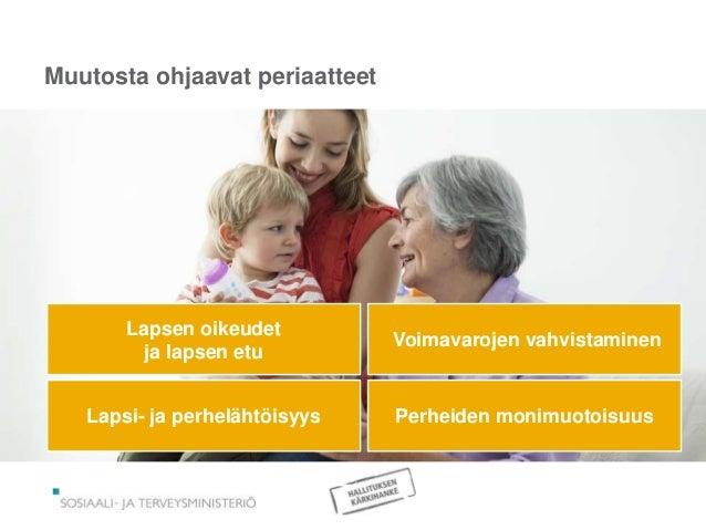 lapsen oikeudet lastensuojelussa