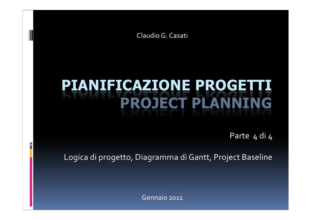 Pianificazione Progetti 4
