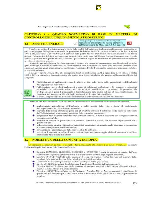 Piano aria sicilia capitolo 4  pag 196  a 200  righe copiate dal piano veneto e incollate su piano sicilia n 1 righe del c...