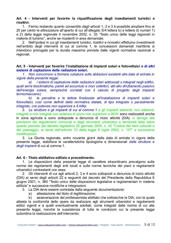 Piano casa veneto 1 2 e 3 - testo coordinato - by ...