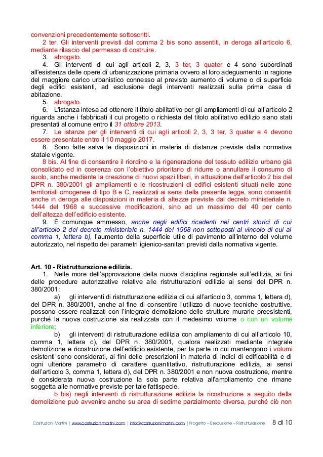 Piano Casa Veneto 1 2 E 3 Testo Coordinato By Costruzioni Martini