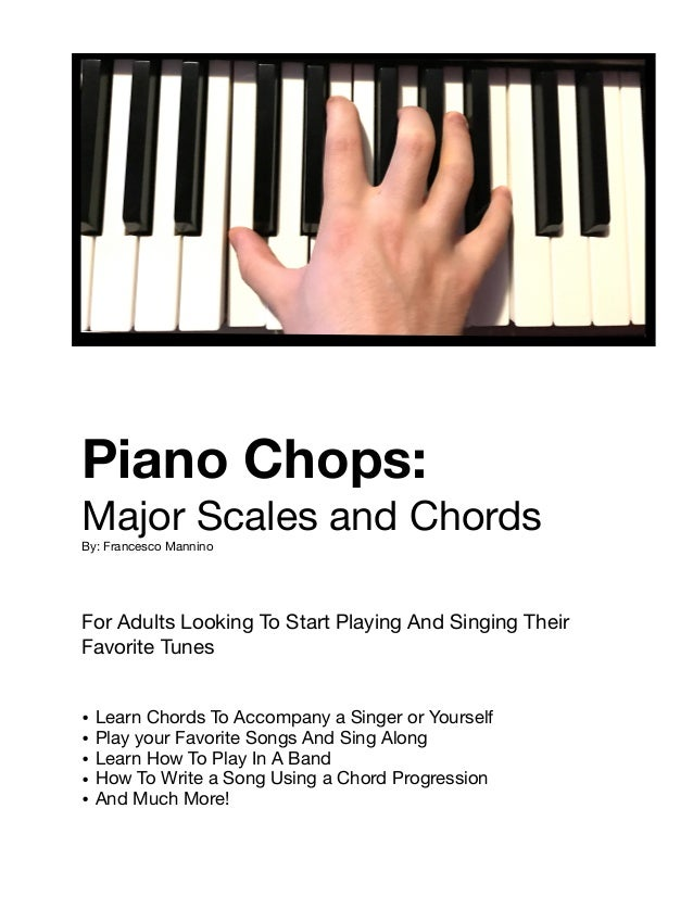 Learn To Play Piano For Adults