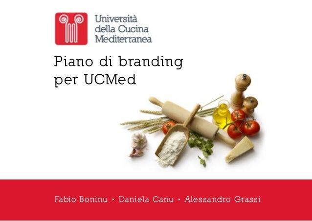 Piano strategico per ucmed universit della cucina for Software di progettazione domestica di piano terra