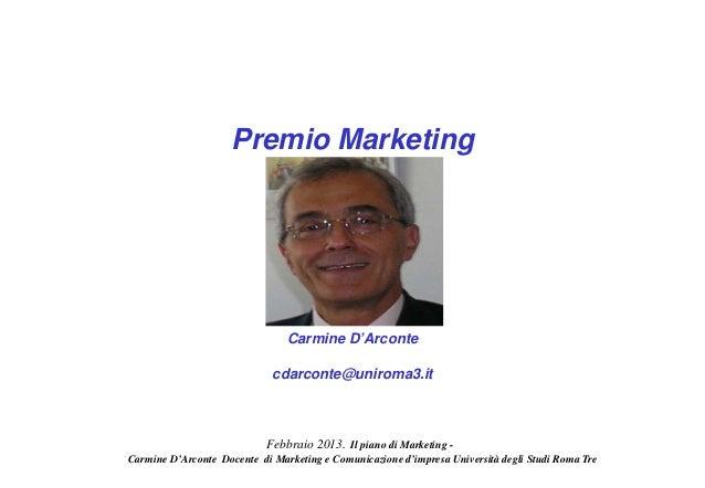 Premio Marketing                                Carmine D'Arconte                             cdarconte@uniroma3.it       ...