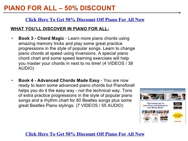 Piano For All Discount