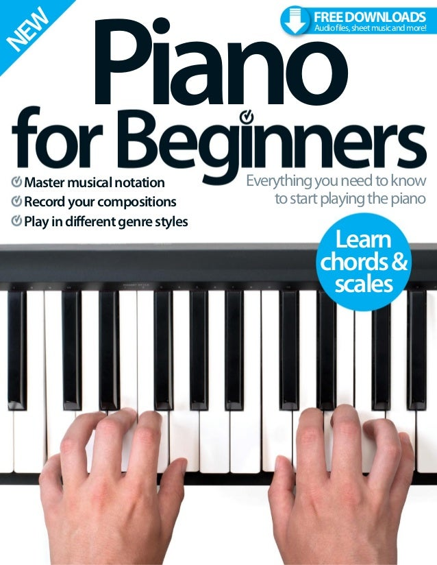 Piano for beginners 6th edition