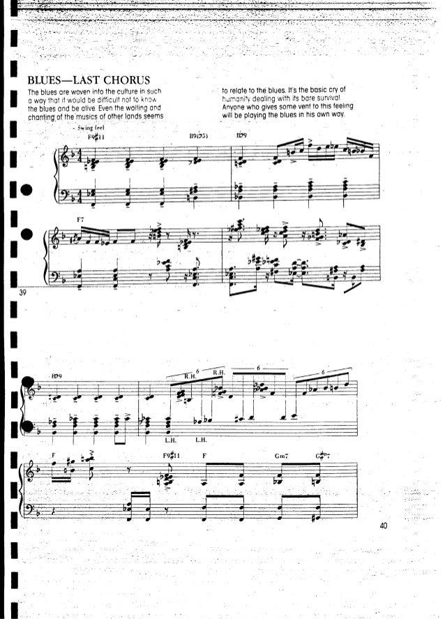 Piano lesson chick corea - keyboard workshop(2)
