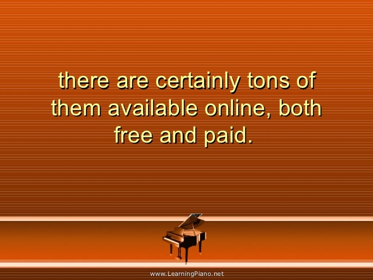 there are certainly tons of them available online, both free and paid.