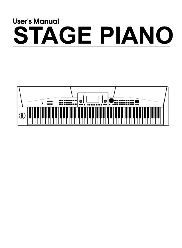 Piano medeli sp5500 manual g06_080107