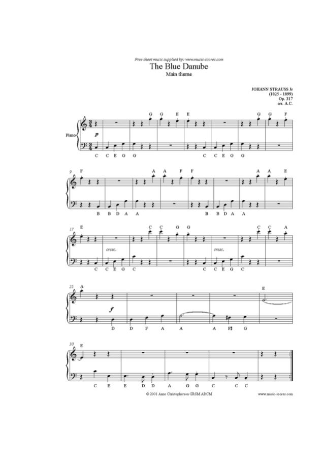 Piano scarborough fair piano sheet music : Piano partituras principiante