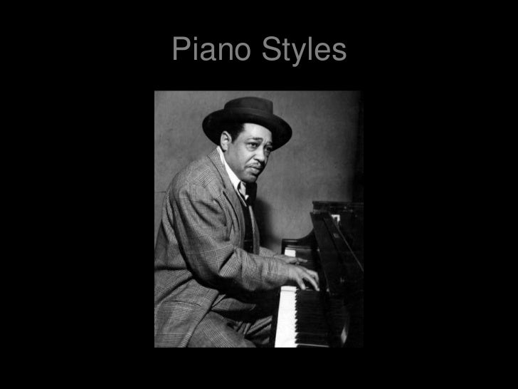 Piano Styles<br />